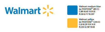 walmart logo colors