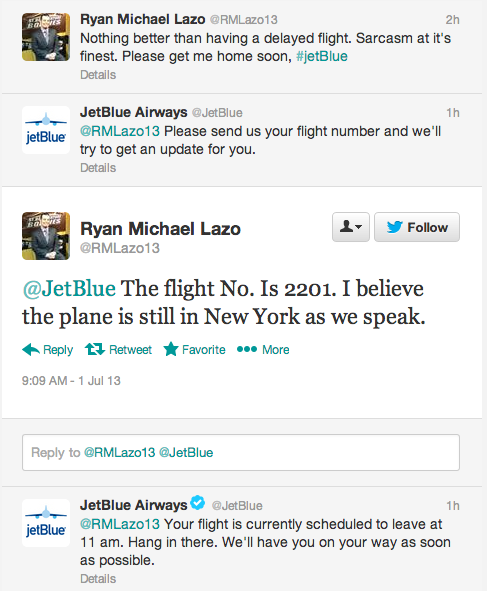 jetblue service