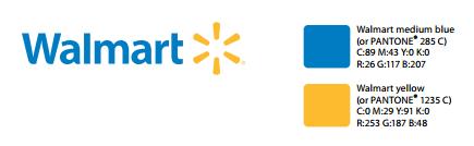walmart logo colors